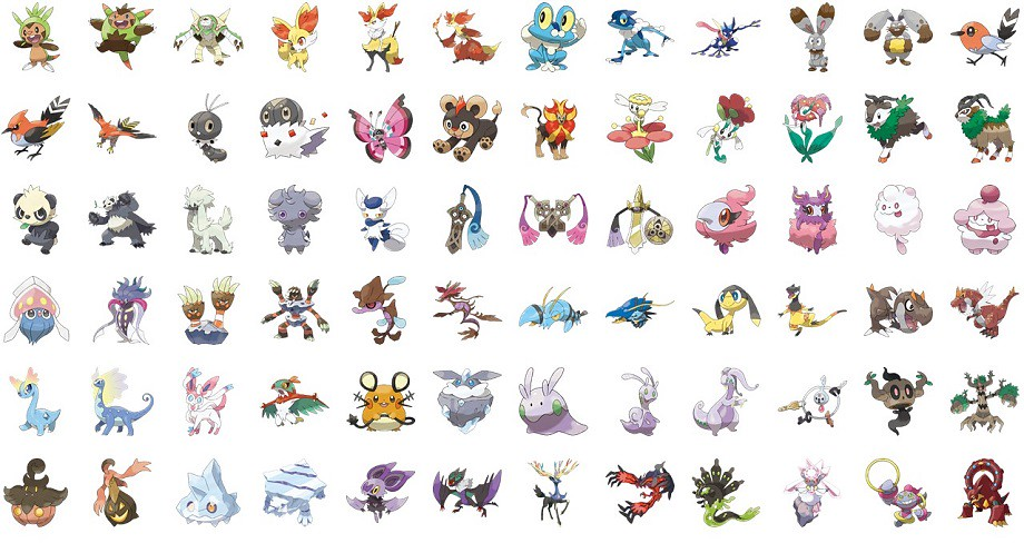 Fire Pokmon Gen 6 Picture Click Quiz  By beforever