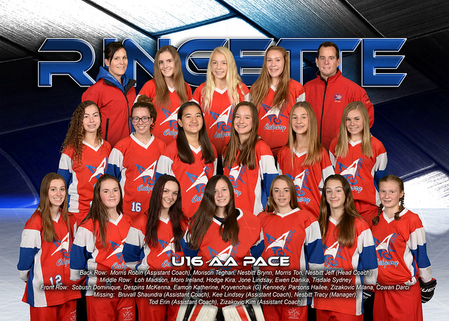 Team Photo - U16AA Pace 2016-17