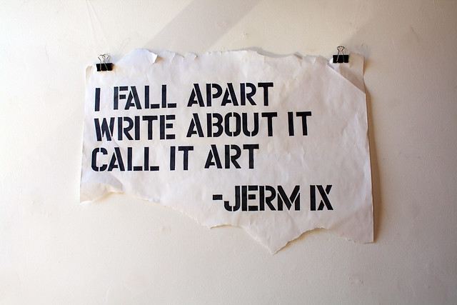 Jerm IX: This is not my suicide note Solo Art Show