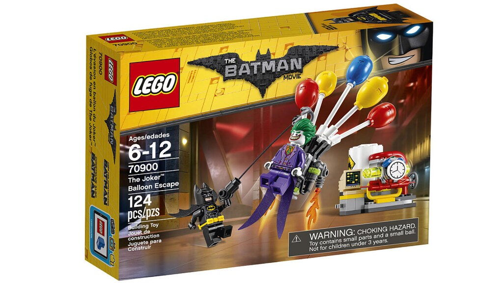 LEGO The Batman Movie 70900 - The Joker Balloon Escape
