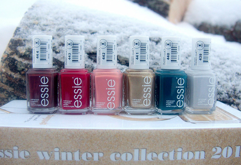Essie Winter 2016 Collection  Swatches