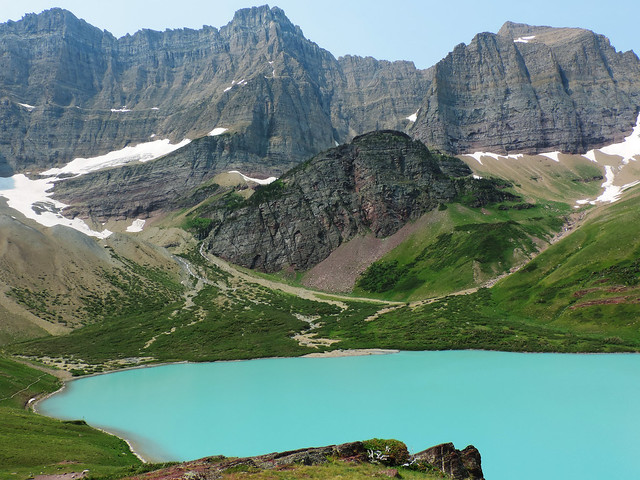 Cracker Lake, Glacier National Park, Montana