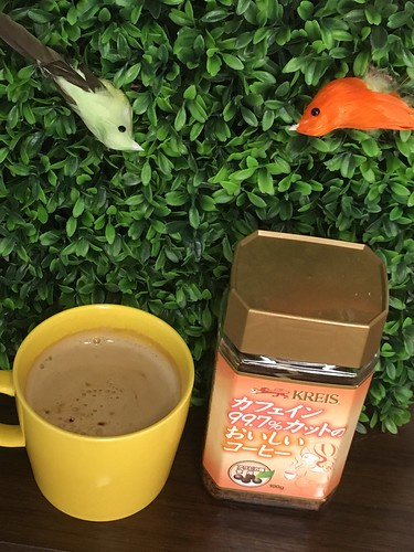カフェインレスのインスタントコーヒー