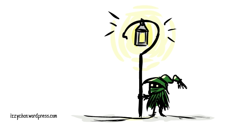 little green dude's lantern