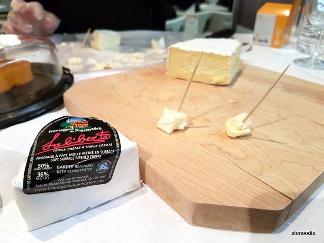 Triple cream cheese