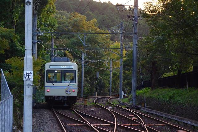2016/09 叡山電車×NEW GAME! 2016アニメ版ラッピング車両 #38
