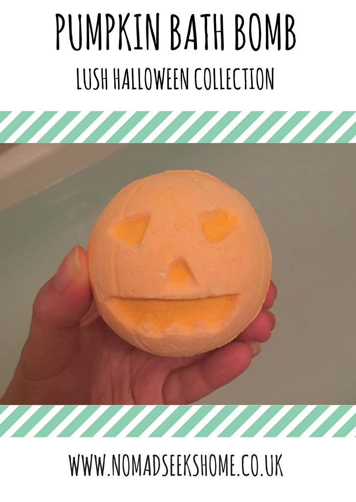 pumpkin bath bomb 1