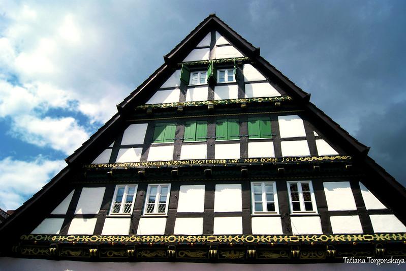 Фасад дома 1631 года