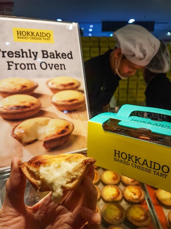 Hokkaido Baked cheese tarts