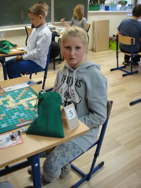 Polica Liga Scrabble