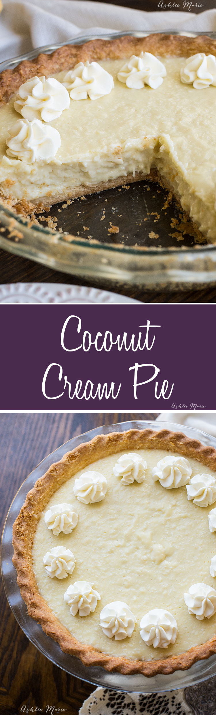 this coconut cream pie is the best you will ever try! not only an amazing flavor but GREAT texture and a hit with all coconut lovers