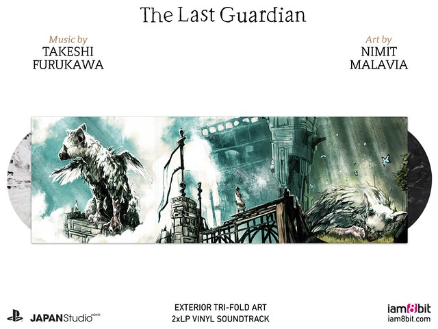 The Last Guardian vinyl OST
