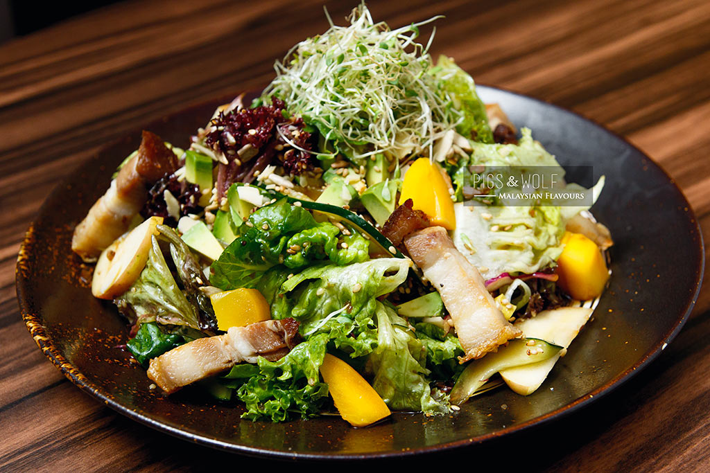 Pigs & Wolf house salad