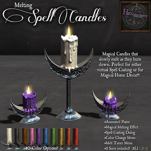 Melting Spell Candles!