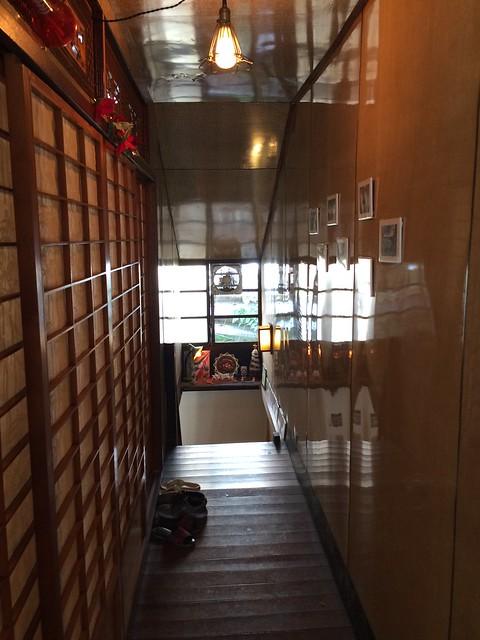 AShare Cafe 2F走廊