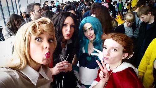 #duckfaceteam a Anim'est cet après-midi 😊 #cosplay #animest2016