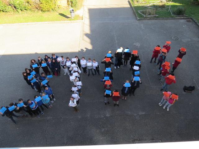 Le collège Paul Vallon mobilisé contre le harcèlement scolaire
