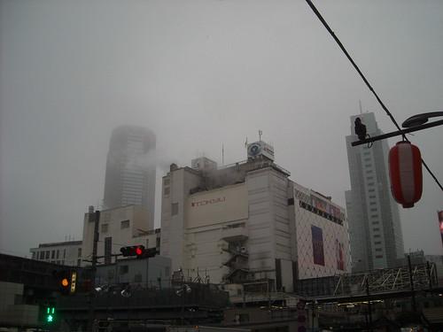 雪が降る渋谷(2016年11月24日)