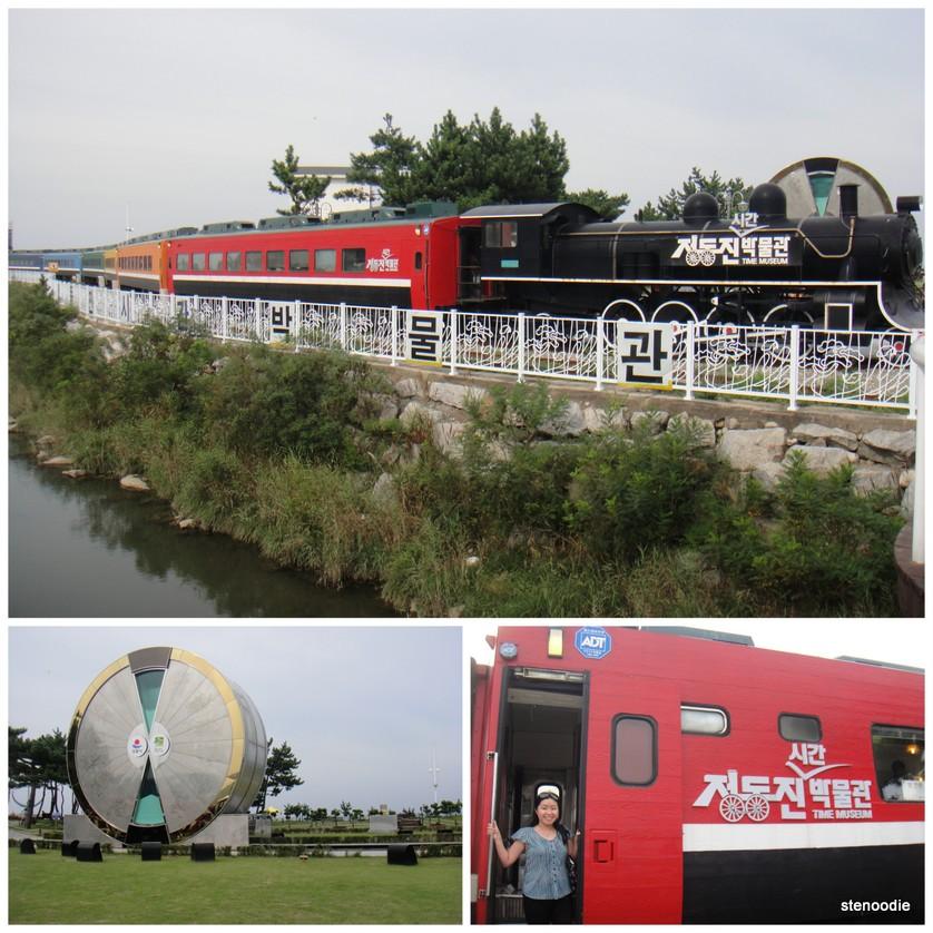 Time Machine train & Giant Windwill