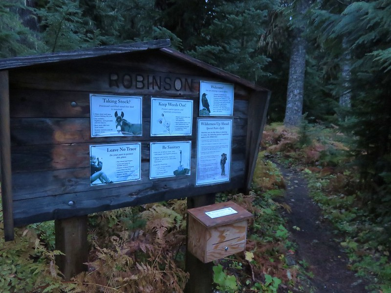 Robinson Lake Trailhead