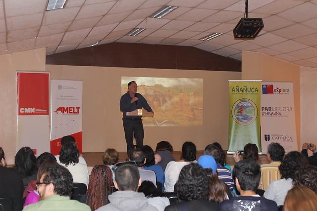 2° Seminario de Arqueología en Taguatagua