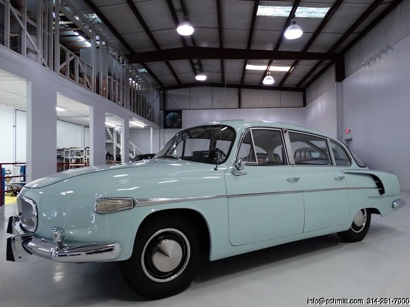 1966 TATRA MODEL T603 SEDAN