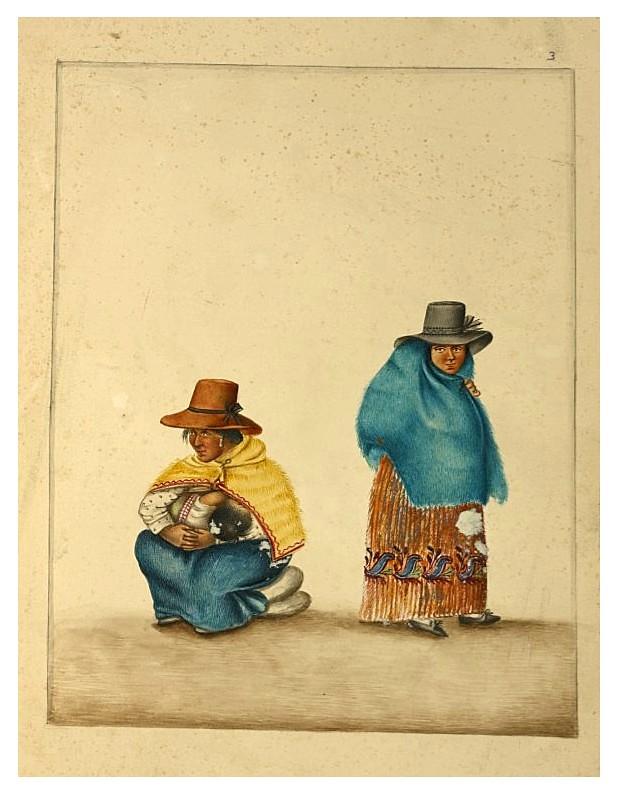 004- Tipos de Lima- década 1830-40- Pancho Fierro-NYPL