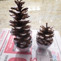Iron Craft '16 Challenge 24 - Pine Cone Trees