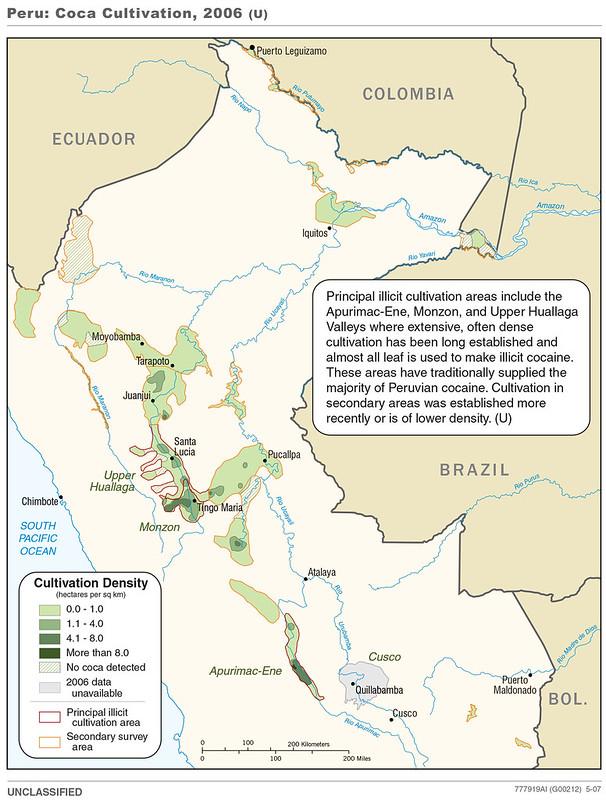 2006 Peru Coca Cultivation