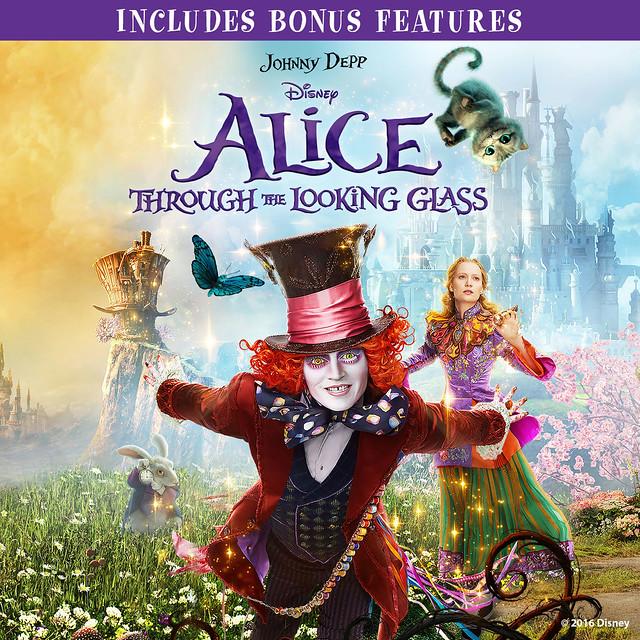 Alice Through The Looking Glass (plus bonus features)