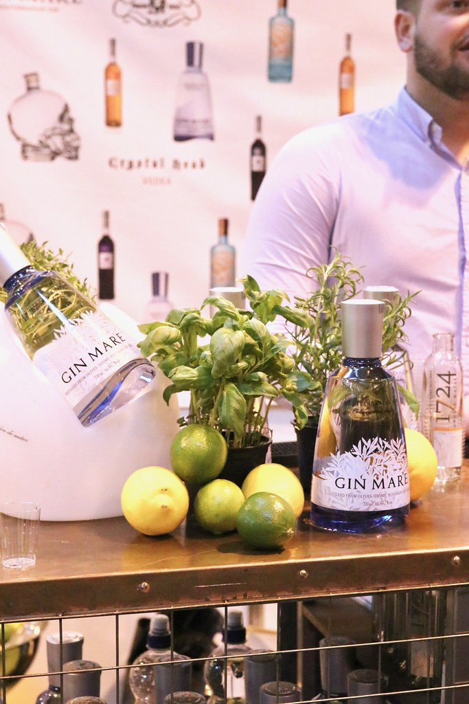 the bbc good food show, bbc, bbc good food show review, food shows in birmingham, birmingham food shows, katelouiseblog, days out in birmingham, birmingham uk, things to do in birmingham uk, thomas dakin, gin mare, sipsmith gin, silent pool gin,