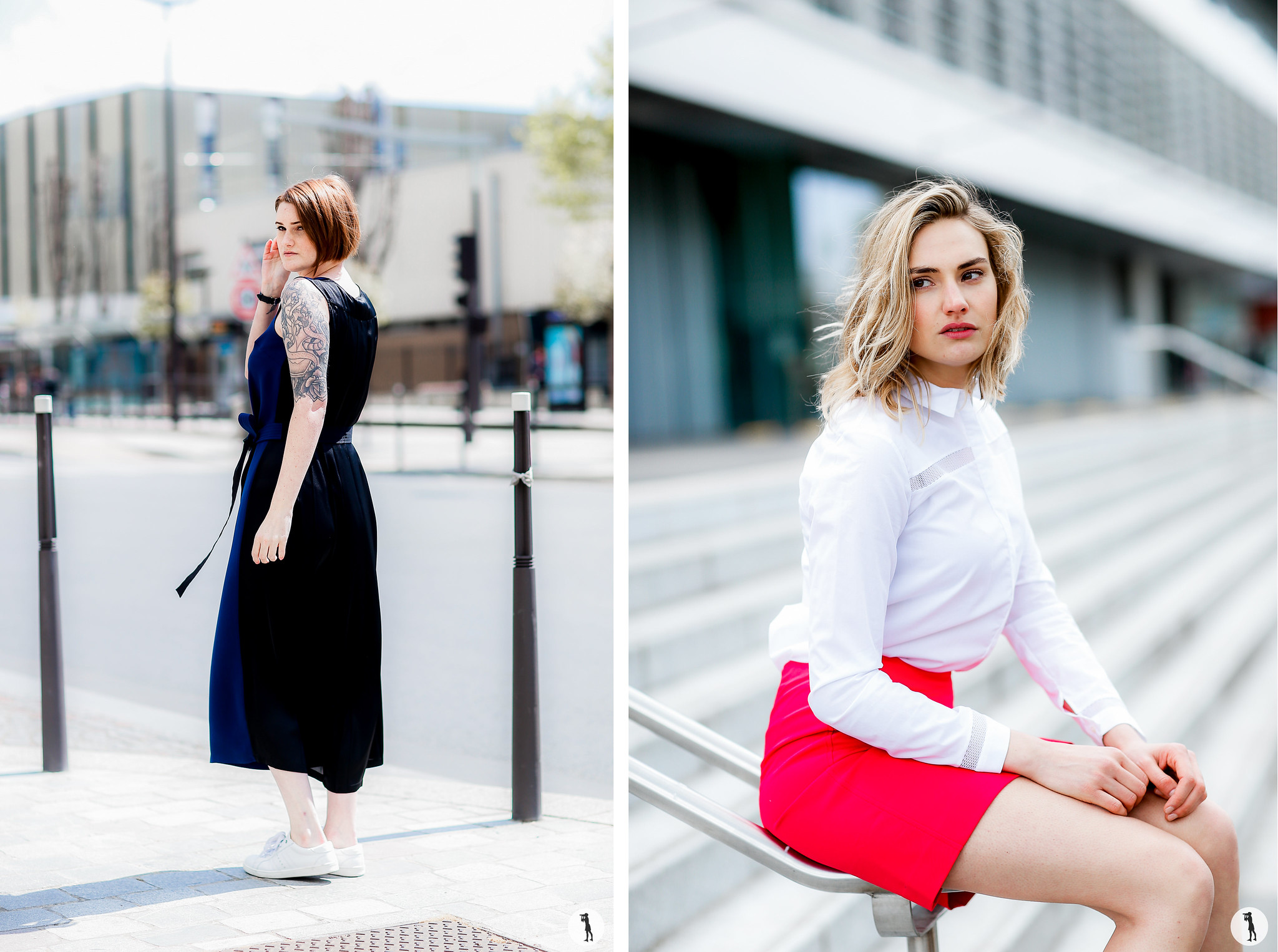 Shooting Street style Cop Copine, Paris