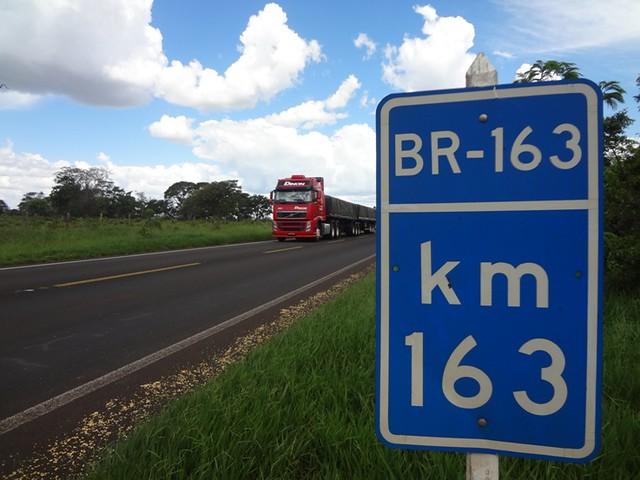 2 consórcios vão realizar os estudos para concessão da BR-163 entre Campo Verde e Santarém