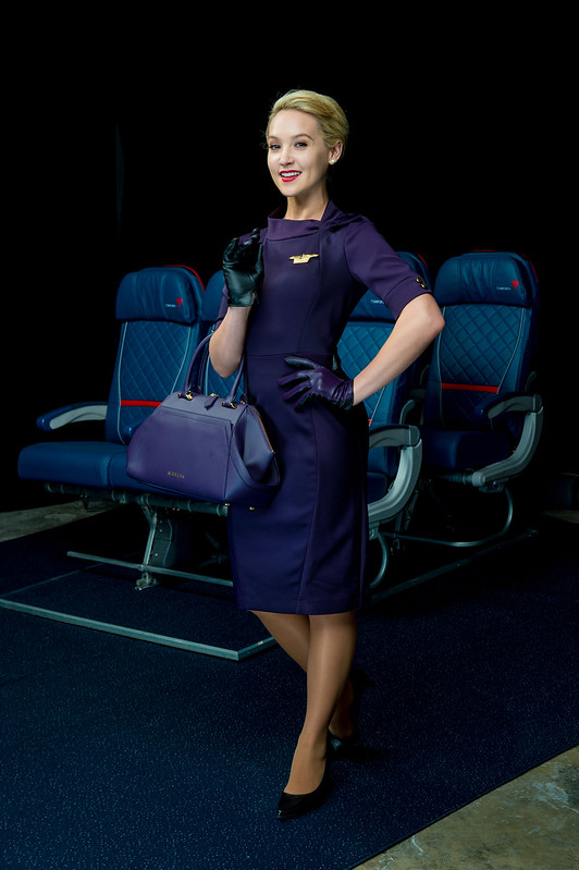 "Delta Runway Reveal: Model ""Lookbook"""