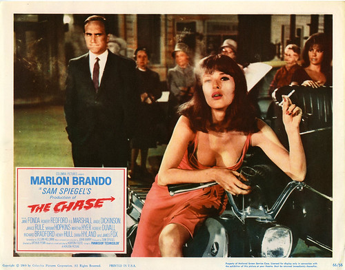 The Chase - 1966 - Lobbycard 3