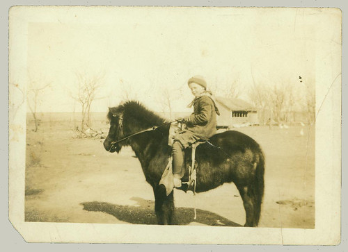 Child on a pony