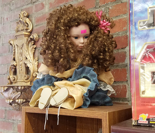 giant perm doll