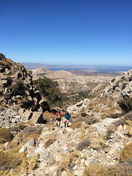 escalade du mont zas