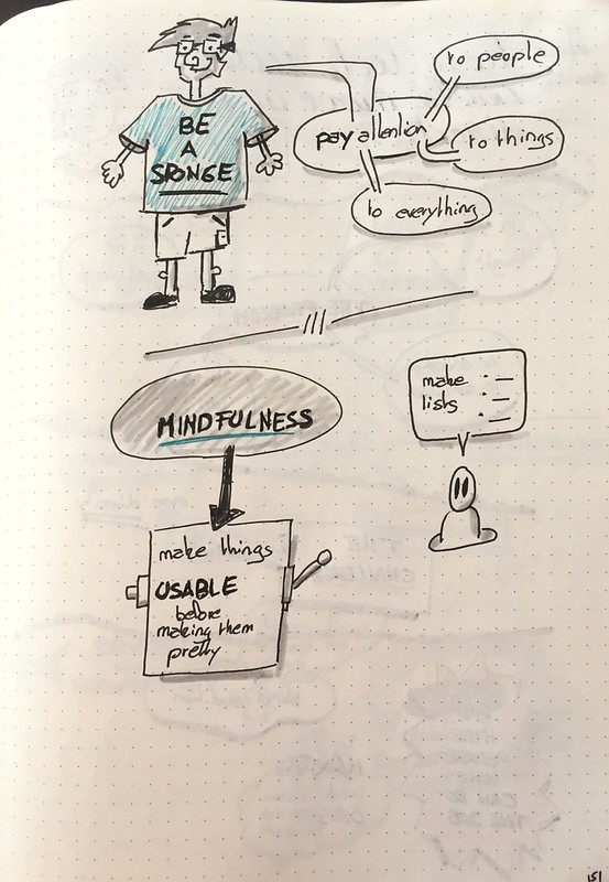 "Mes sketchnote de ""The world is your interface"" (partie 2 sur 2)"