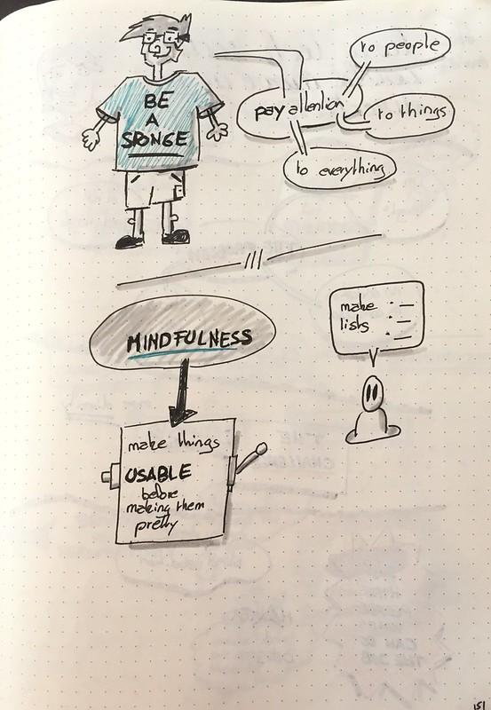 """Mes sketchnote de """"The world is your interface"""" (partie 2 sur 2)"""
