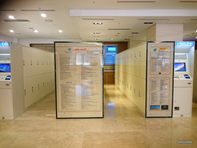 Loisir Hotel self-lockers