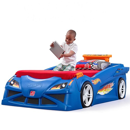 Step2 Hot Wheels Bed Cama De Bebes A Niños 1