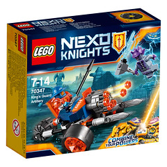 LEGO Nexo Knights 70347 King's Guard Artillery 1