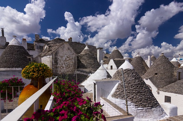 Trulli and clouds - Trulli e nuvole (EXPLORED)