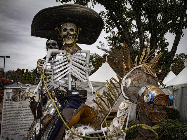 Dia de los Muertos Urban Art Alley