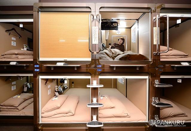ANSHIN-OYADO Capsule Hotel