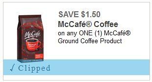 McCafe Coffee Coupon