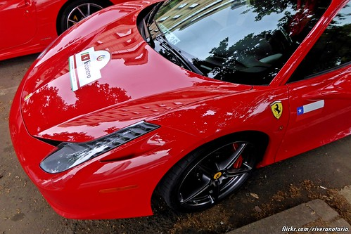 Ferrari 458   Largada Chile Primer Incontro Ferrari Sudamérica