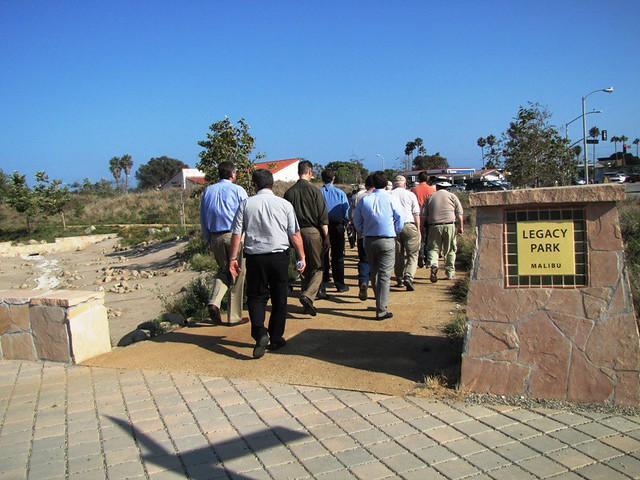 LABS 2011 Tour of Malibu's Legacy Park