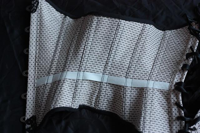 corset underbust victorien